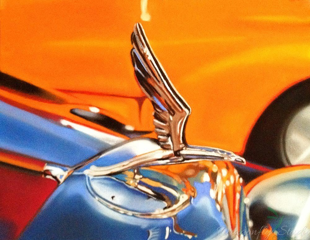 1933 Eagle Hood Ornament