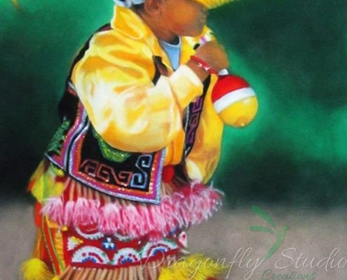 The Traditional Dancer
