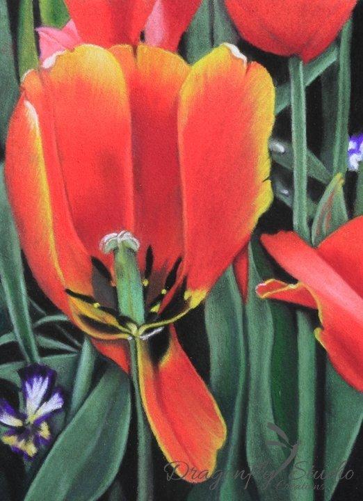 Orange You Beautiful Floral Pastel